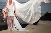 Plážové svatební šaty, 38