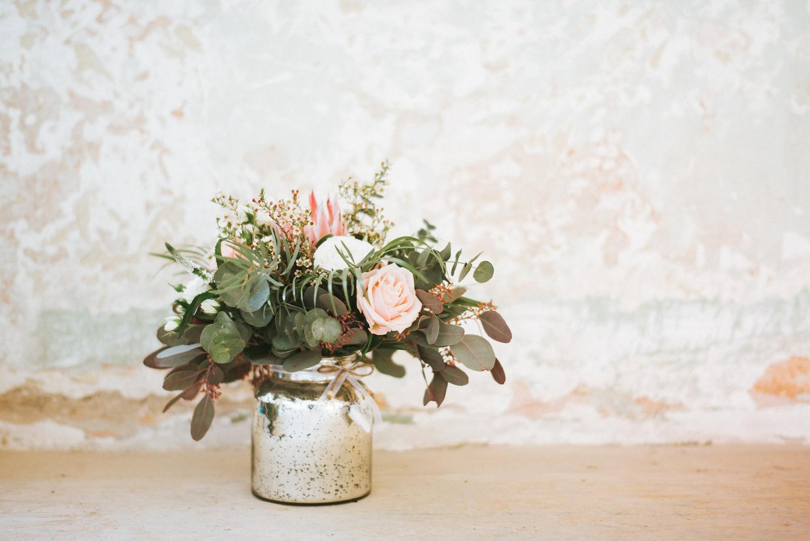 Zlato-strieborná váza - Obrázok č. 1