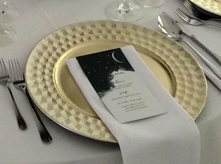 Klubové taniere zlaté champagne - Obrázok č. 1