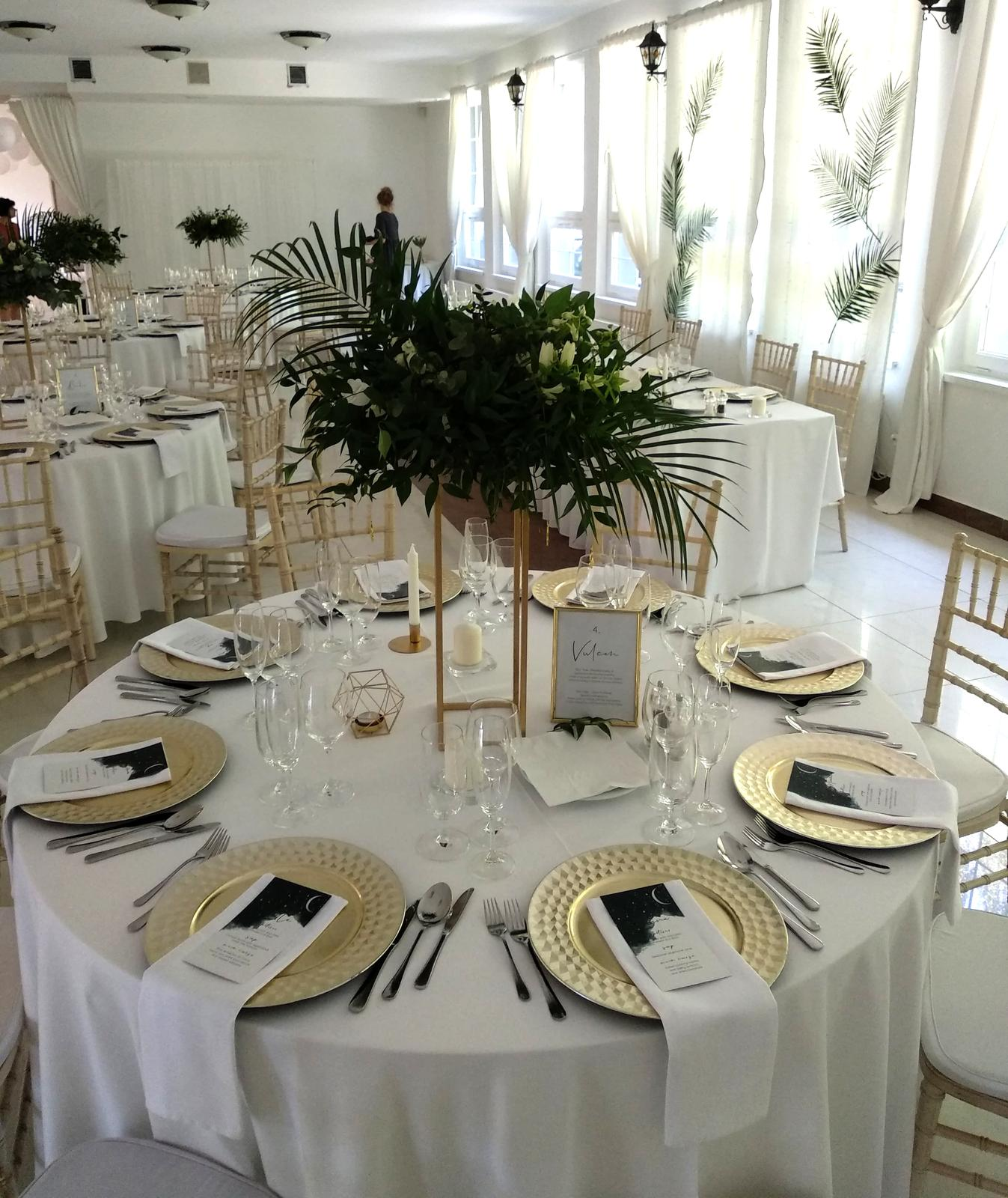 Klubové taniere zlaté champagne - Obrázok č. 2