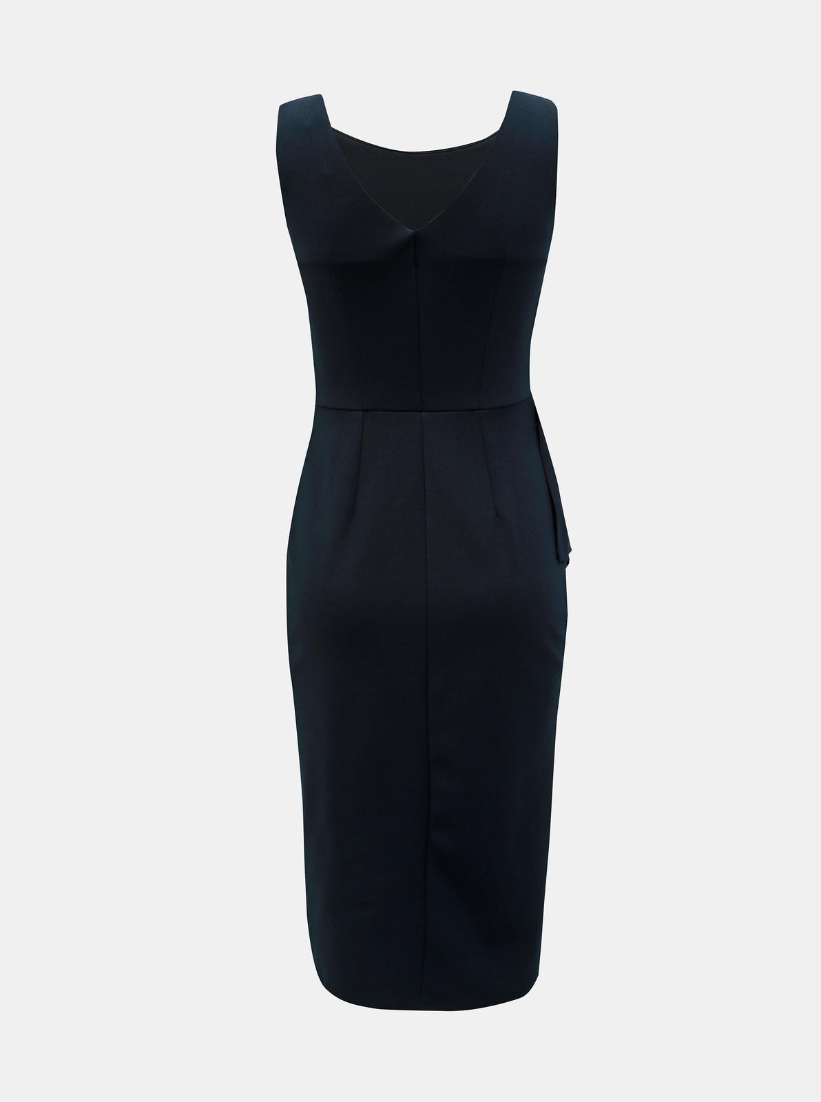 Tmavo modré puzdrové šaty Dorothy Perkins - 36 - Obrázok č. 2