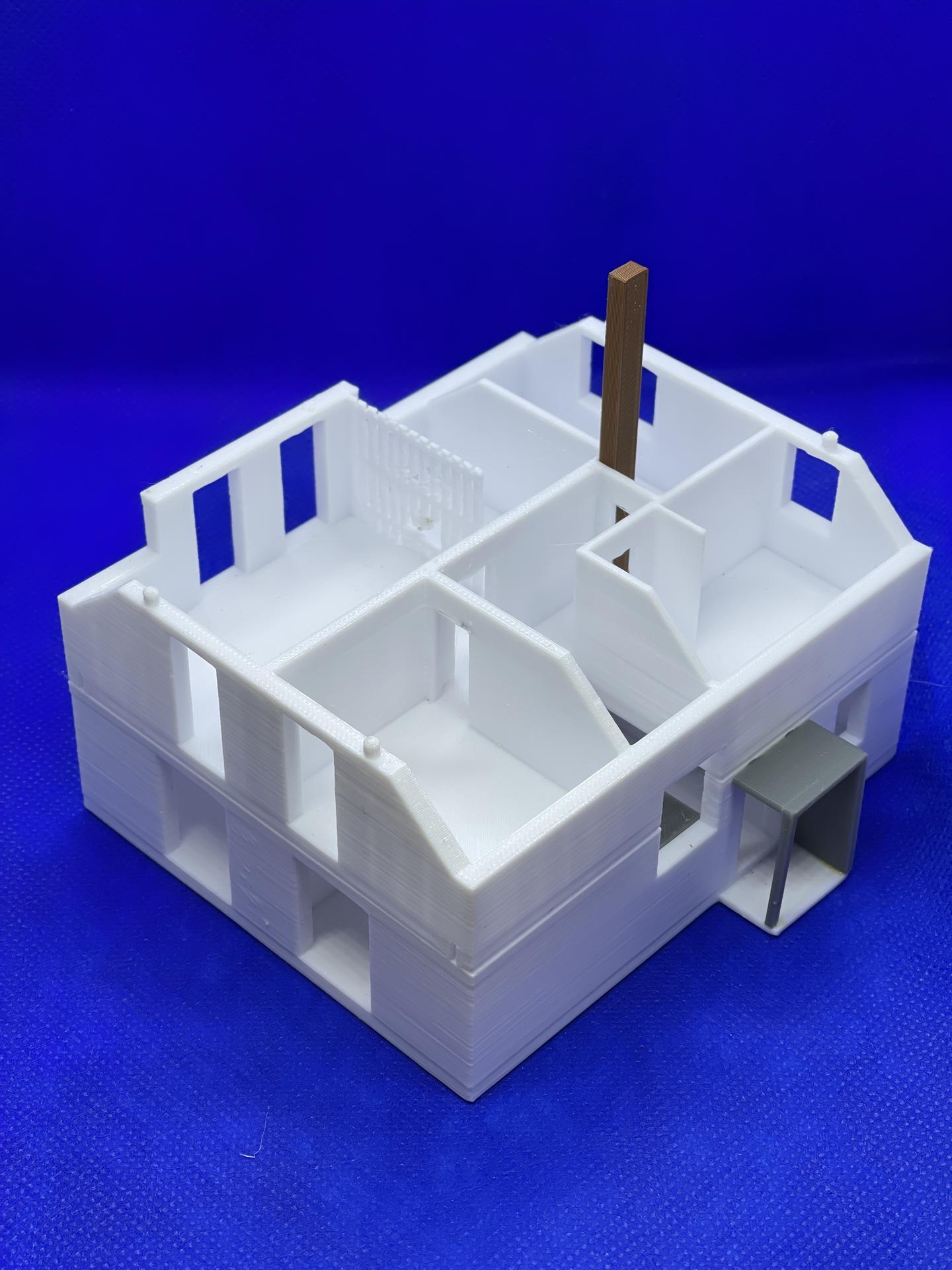 A dom je postavený :D 1:100 - Obrázok č. 9