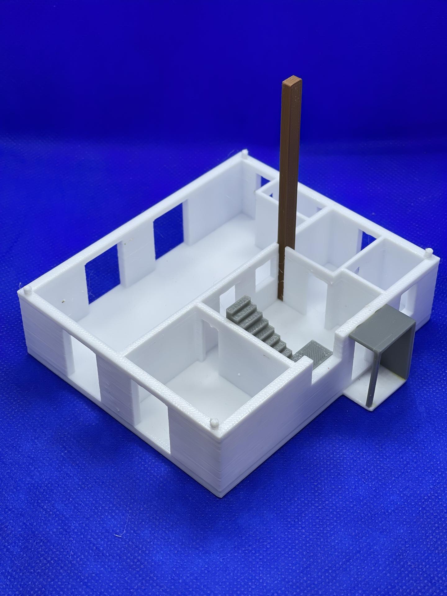 A dom je postavený :D 1:100 - Obrázok č. 8