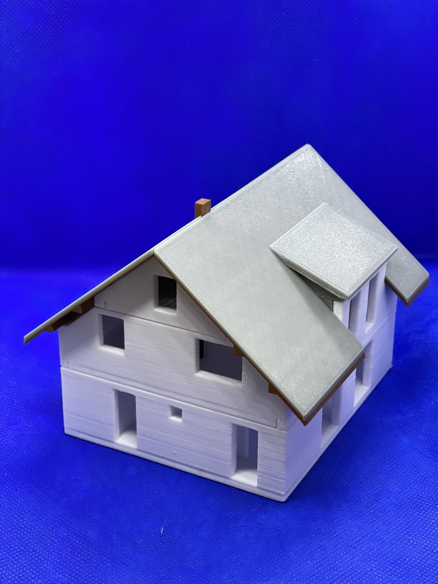 A dom je postavený :D 1:100 - Obrázok č. 6