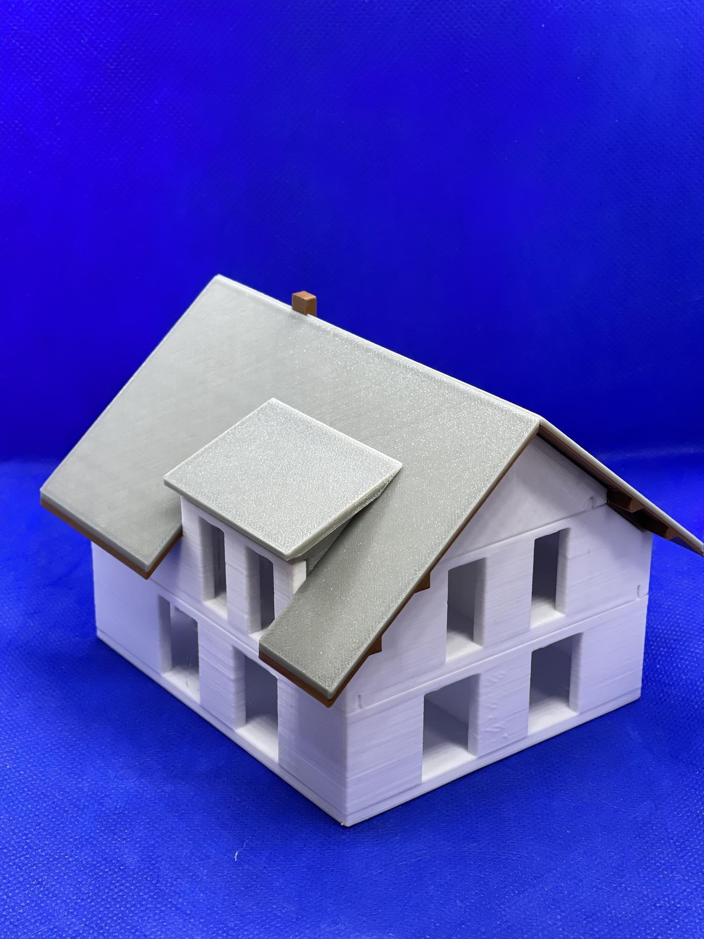 A dom je postavený :D 1:100