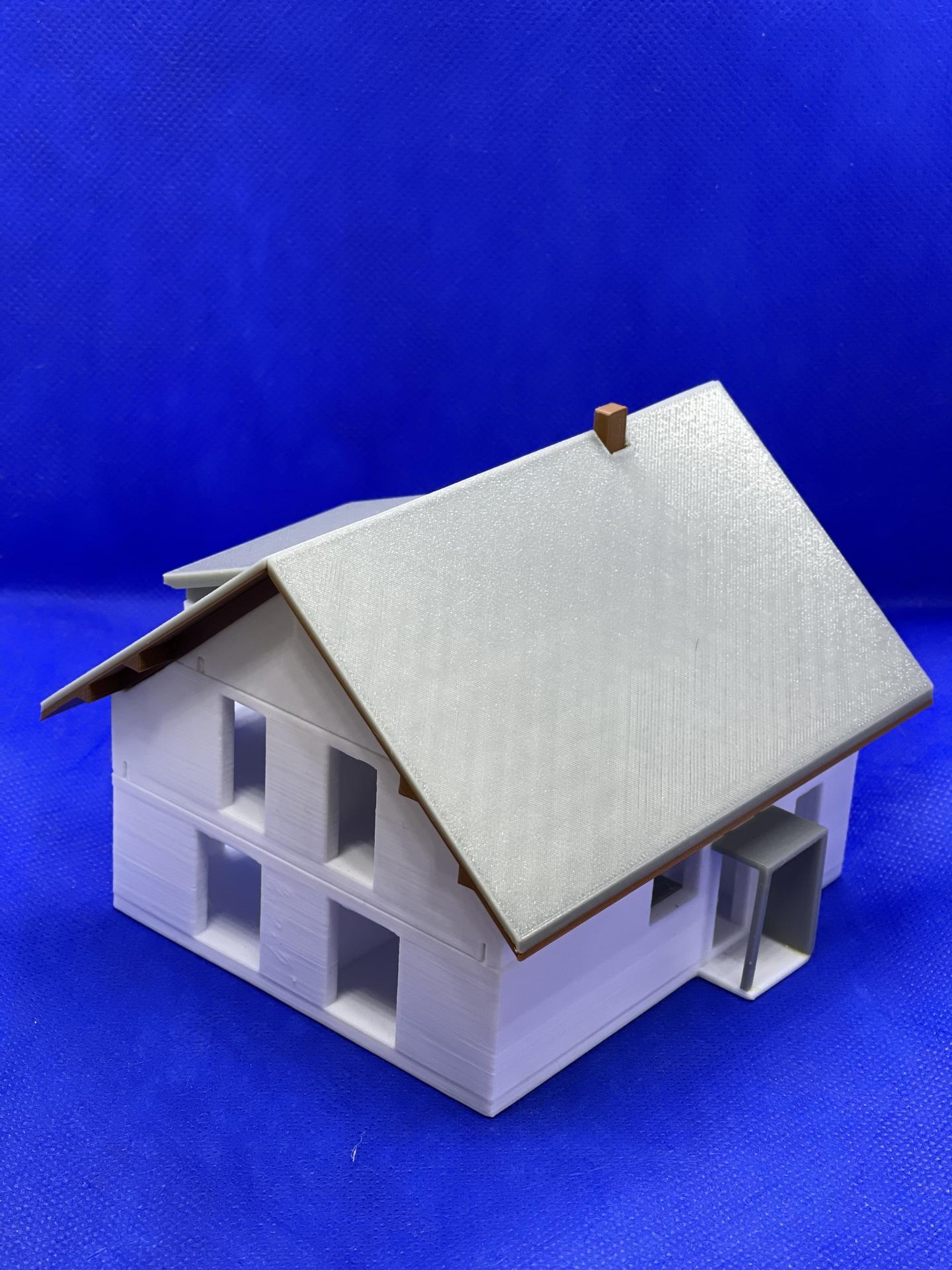 A dom je postavený :D 1:100 - Obrázok č. 3
