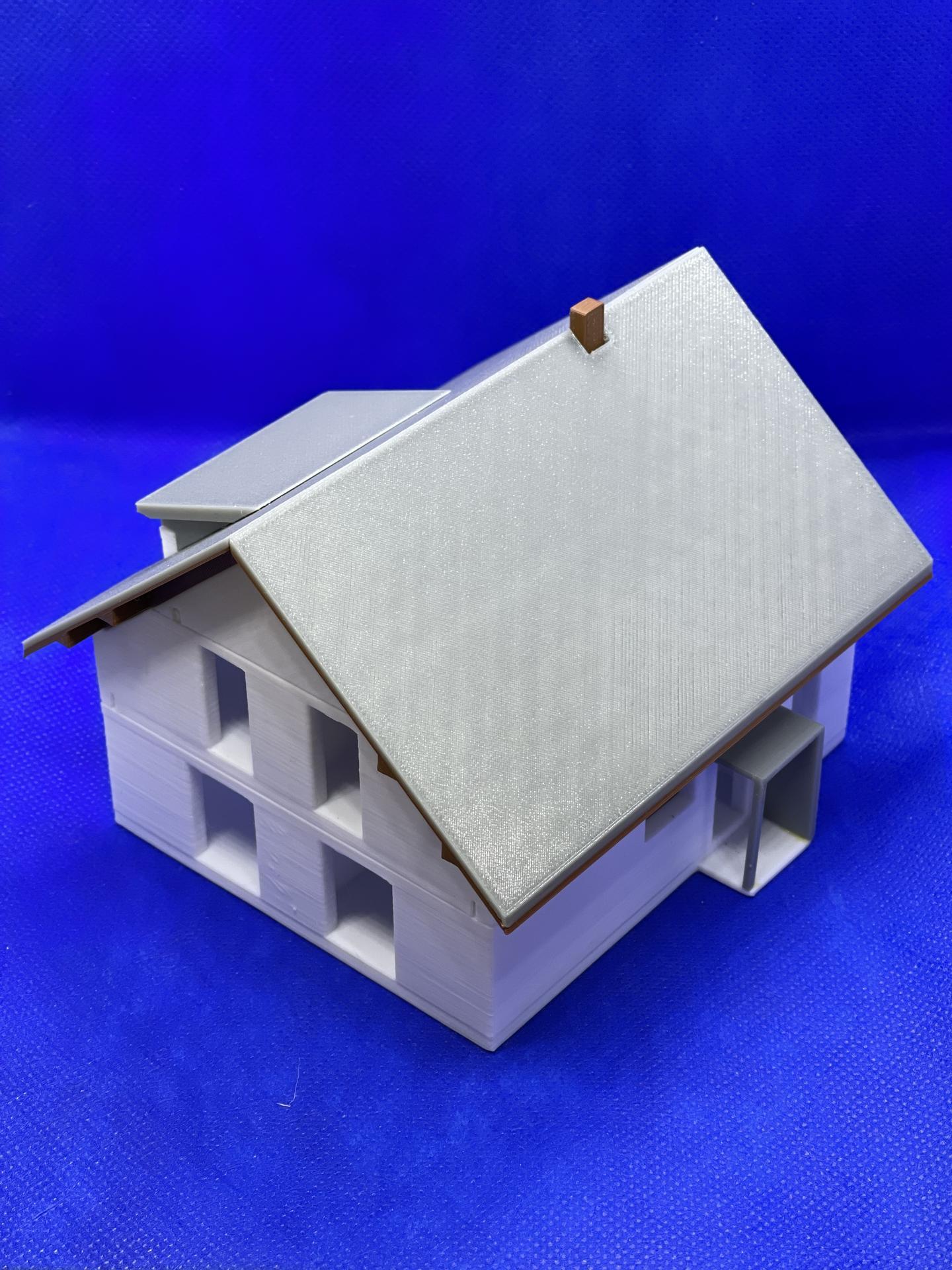 A dom je postavený :D 1:100 - Obrázok č. 10