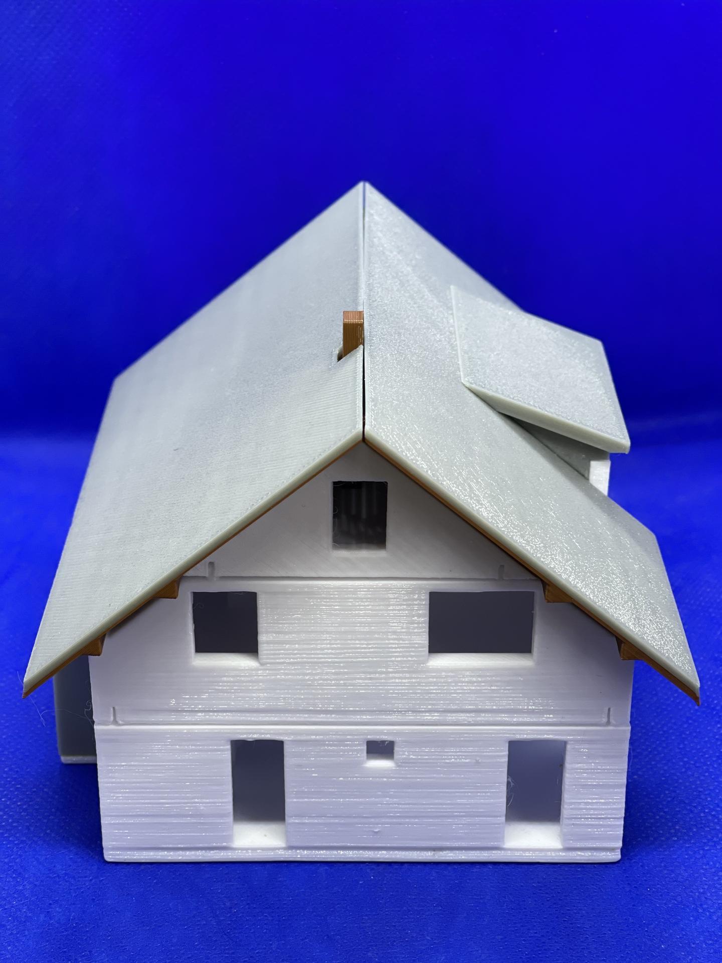 A dom je postavený :D 1:100 - Obrázok č. 5