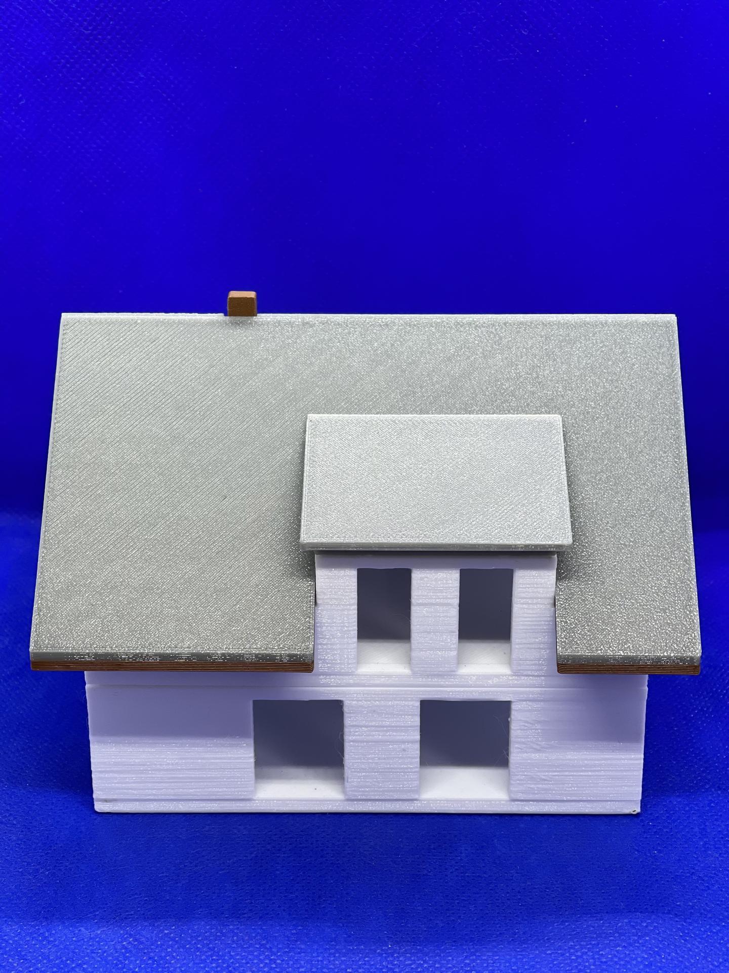 A dom je postavený :D 1:100 - Obrázok č. 7
