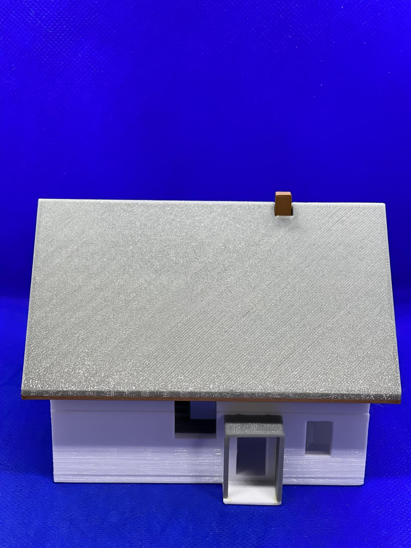 A dom je postavený :D 1:100 - Obrázok č. 4