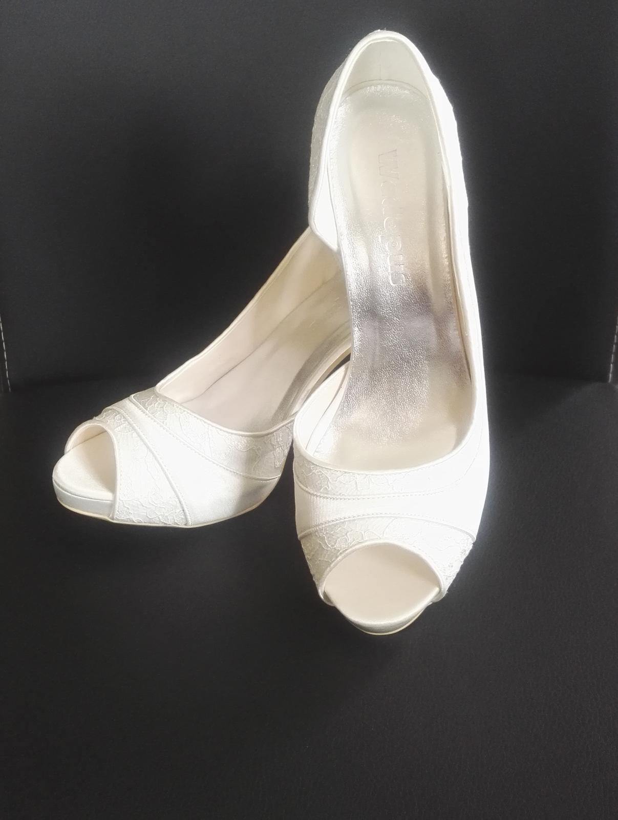 Luxusní svatební boty - Obrázek č. 1