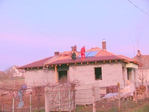 osadenie slnečných kolektorov