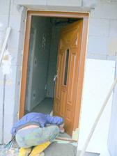 posledné úpravy okolo dverí