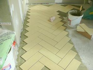 a ide aj na podlahu.