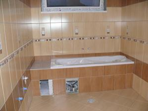 a kúpeľňa je skoro hotová