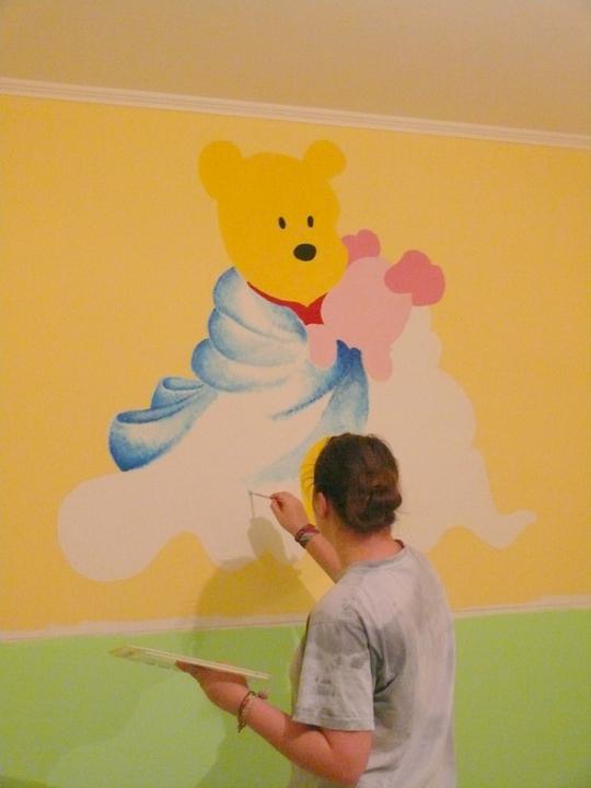 a maľujeme Barborkinu izbu - Obrázok č. 4