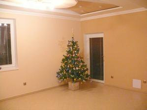 vianoce sme síce nestihli ale stromček sme si taký na rýchlo spravili už v domčeku