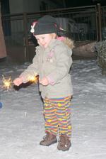 hurááá a takto Baba privítala nový rok:-)))