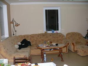 a tu sme už presťahovaný- obývačka