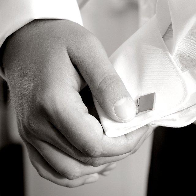 Niečo z výzdoby a príprav - 9.5.2009 - niečo pre ženícha