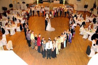 svadobné srdce od svadobčanov