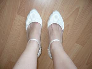 Moje svatební botičky ;-)