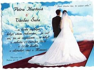svatební oznámení už je rozdáno.:o))