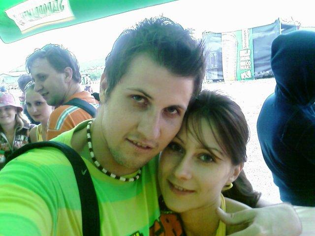 Ivka a Mareček 18.9.2010 - mojko a ja