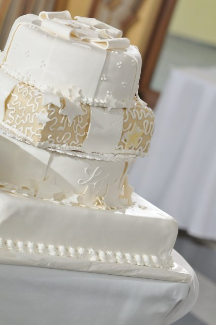 Svadba nebeská - pani torta