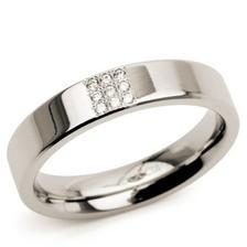 nevestin prstienok - titan+diamanty