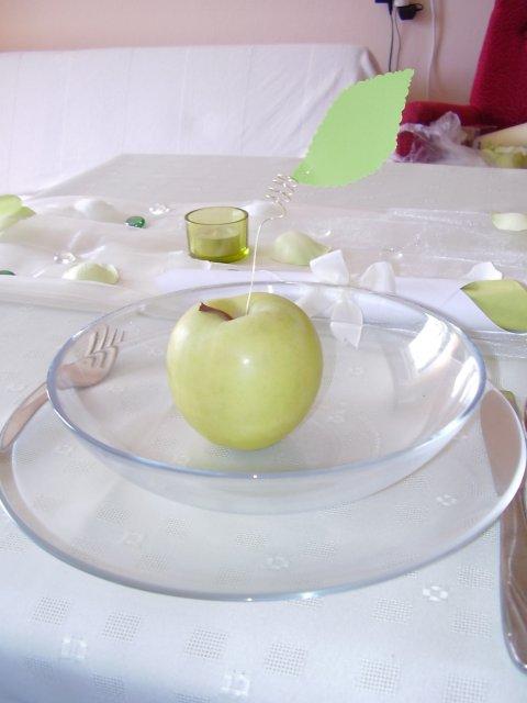Zacali sme pripravu - prestieranie :) zatial len doma na stole