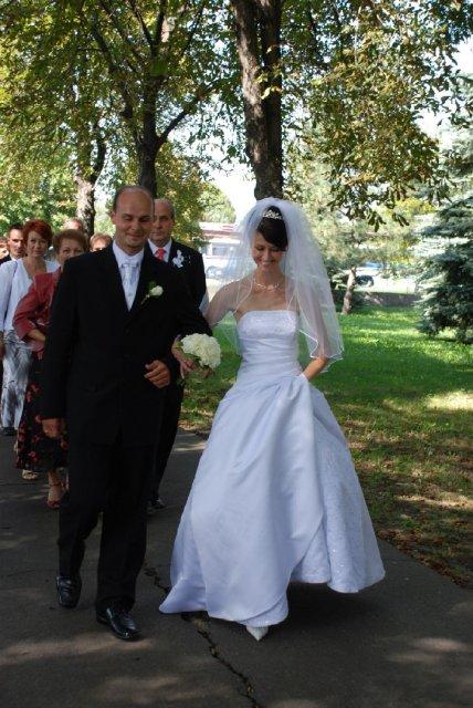 Peťka{{_AND_}}Janko - už kráčame...naposledy ako slečna a mladý pán