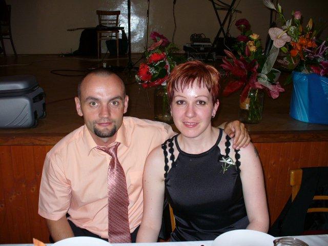Veronika a Martin - na sesternicinej svadbe