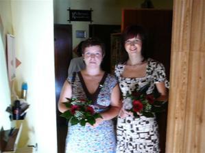 Naše sestřičky a zároveň svědkyně..:)