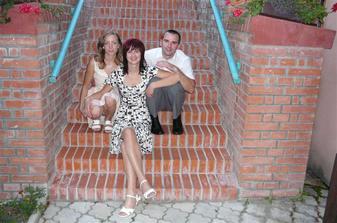 Naše milovaná sestra a švagrová Dáša..:)