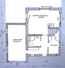 Pôvodný stav domu lyda prízemie