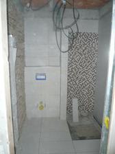 Spodná kúpelňa vo výstavbe