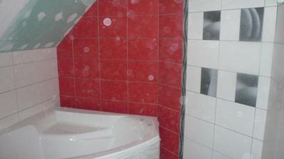 Horná kúpelňa, ešte čaká na dokončenie