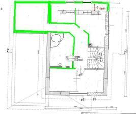 a toto je jeho finálna uprava tým že sme domčúrik predlžovali o 1,5m sa zmenila trošku aj dispozícia poschodia :-)