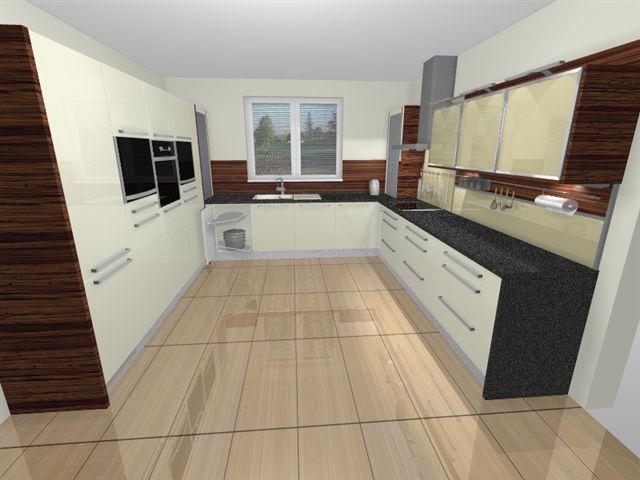 Kuchyňa - celkový pohľad