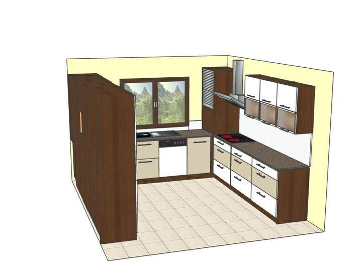 Osvetlenie v kuchyni - Ako by ste osvetlili tento priestor na strope?