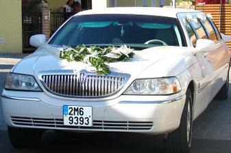 limuzína přichystaná, velikánské a krásné překvapení od kamarádů :-)
