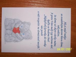 svadobný list