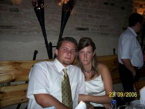 na sestrinej svadbe 23. 9. 06 /do roka sa vydávam/