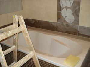 Pracuje sa na rodičovskej kúpelke :)