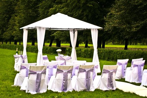 Nejkrásnější svatba - Svatební altán z půjčovny