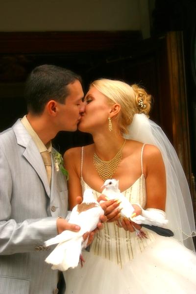 Nejkrásnější svatba - Zajistíme holoubky k obřadu
