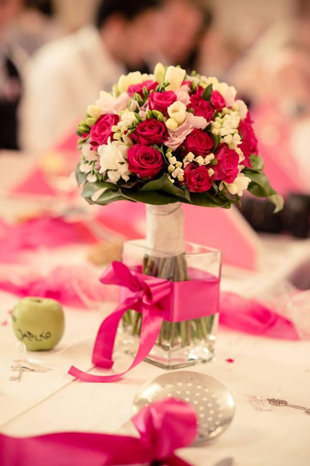 Nejkrásnější svatba - Svatební kytice pro Evičku