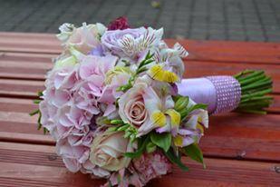 Nejkrásnější svatba - Svatební kytice do My hotel v Lednici