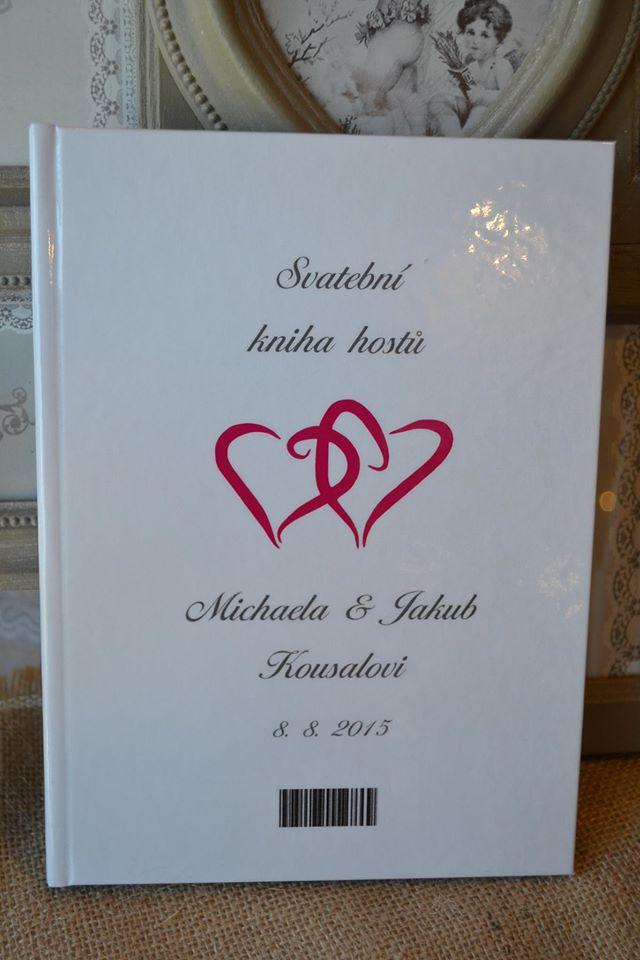 Nejkrásnější svatba - Deska na oddací list na přání